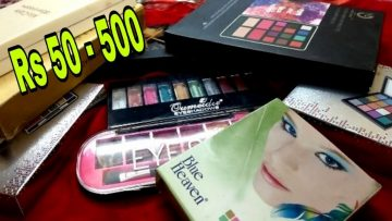 Affordable Eyeshadow Pallets Rs 50 – 500 by Beautiful U