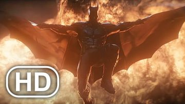 BATMAN Death Scene Cinematic HD – Batman Arkham Knight Movie Cinematics