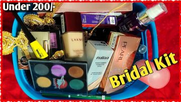Bridal Makeup Kit Under Rs 200❤मेकअप किट❤Beautiful U