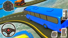 Bus Mega Ramp Impossible Stunt Car Tracks 3D Transporter Driver – Android GamePlay #6