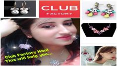 Club Factory Jewellery| India  Rs 50 – Rs 250|  क्लब फ़ैक्टरी | Beautiful U