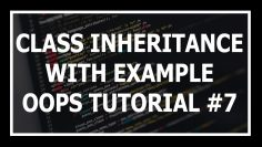 [Hindi] Inheritance In Python oops | Object Oriented Programming In Python Tutorial #7