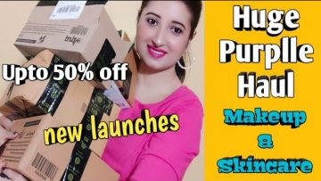 Huge Purplle Haul 2020❤Makeup❤Skincare❤Beautiful U