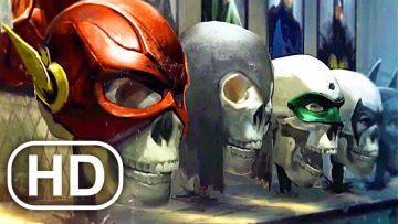 LOBO KILLS THE JUSTICE LEAGUE Scene Cinematic 4K ULTRA HD – Injustice Movie Cinematics