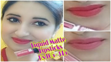 Most affordable Liquid Lipsticks under Rs 175 by Beautiful U