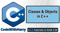 Object Oriented Programming in C++ | C++ Tutorials for Beginners #20