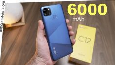 Realme C12 Unboxing – 6000 mAh battery, Triple Camera Rs. 8999