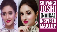 💕Shivangi Joshi (Naira) Inspired Party Makeup Tutorial💕Dec19 Giveaway Winner Announcement