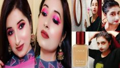 Simple Glowy Eid Makeup 2020 With Skincare & Haircare❤Lakme Foundation❤Beautiful U