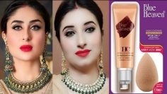❤Simple Wedding Guest Makeup Tutorial & Simple Hairstyle 2020❤Kareena Kapoor Inspired❤Blue Heaven❤
