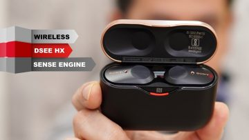 SONY WF-1000XM3 Review – noise canceling wireless earbuds better than Apple AirPods Pro?