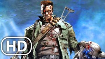 TERMINATOR Full Movie Cinematic Arnold Schwarzenegger 4K ULTRA HD Action All Cinematics
