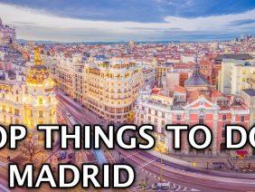 Things To Do in Madrid, Spain 2020 4k