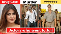 New List Of 6 Bollywood Actors Who Went To Jail For Serious Crimes – Rhea Chakraborty, Salman Khan