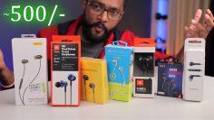 Top 7 Budget Earphones TEST – Must watch Before Buy !