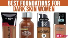 Top 7 Best Foundations for Dark Skin Women – Best Makeup Products 2020