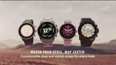 Fossil Gen 6 Smartwatch with AMOLED screen, Snapdragon 4100+ Wear platform, Wear OS by Google