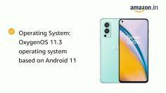 OnePlus Nord 2 5G Blue Haze, 8GB RAM, 128GB Storage